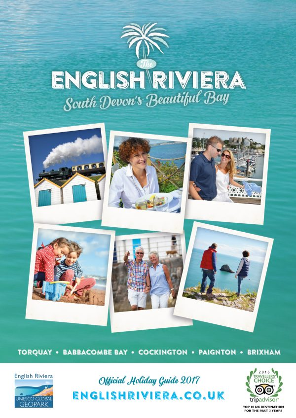 2018 English Riviera Destination Guide - Book your Space NOW!