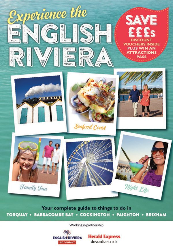 170,000 Experience the English Riviera Guides for 2017