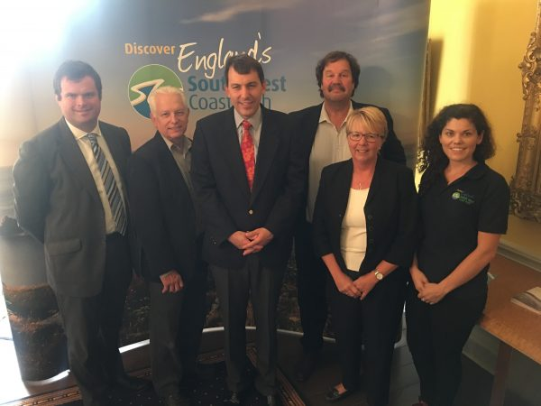 Tourism Minister visits the English Riviera