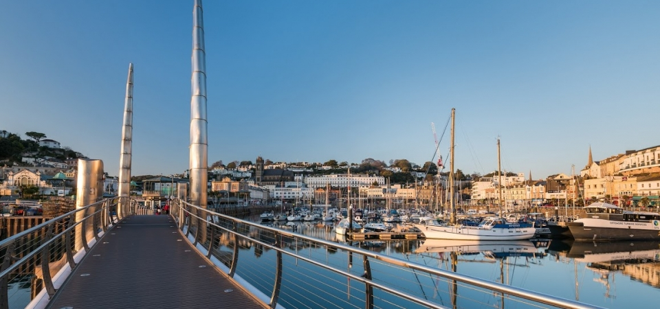 Bridge, Torquay Harbour, English Riviera