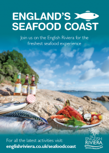 England's Seafood Coast leaflet cover. English Riviera