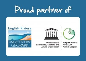 English Riviera UNESCO Geopark partner logo