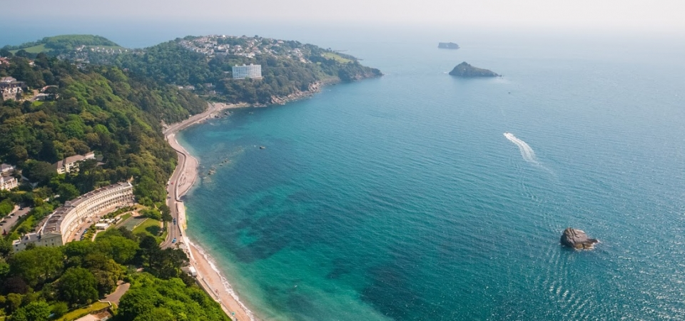 Meadfoot Aerial photo, English Riviera